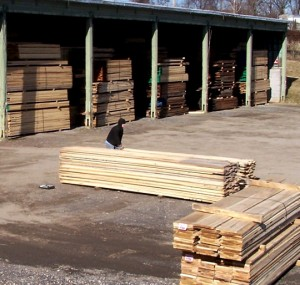 Poplar and Walnut Lumber Sheds